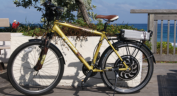 CycleBooster Giant electric bike